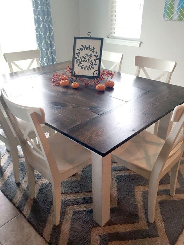 30 amazing farmhouse kitchen tables ideas farmhouse kitchen tables diy kitchen table square on farmhouse kitchen table diy id=87096
