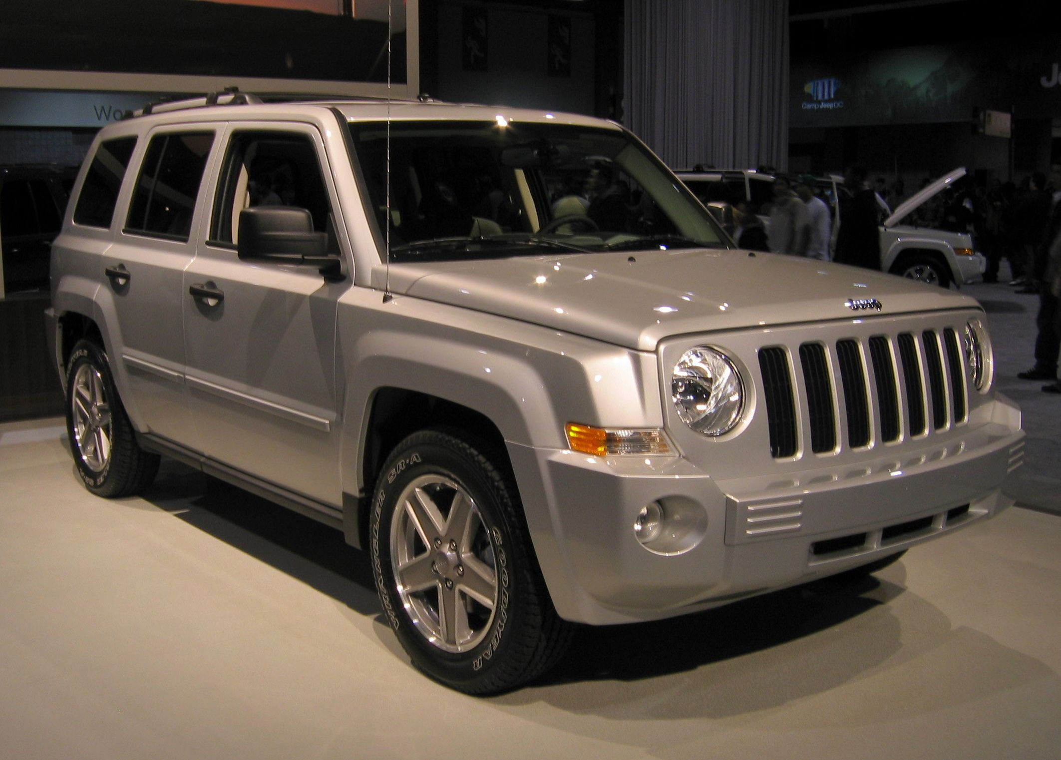 jeep patriot: my car. it's a jeep thing - you wouldn't understand