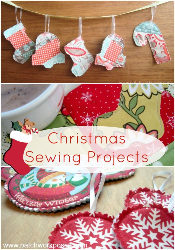 looking for a few christmas sewing projects youll find a variety of projects quilts pillows stocking embroidery and more