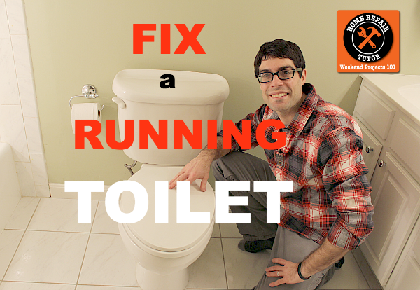 Fix A Running Toilet And Instantly Lower Your Water Bill Toilet Home Repair Water Bill