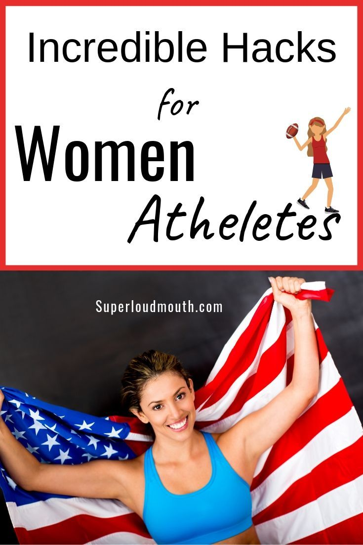 Hacks For Women Athletes: An Incredibly Easy Method That Works For All #fitness #athletes #hacks #fo...