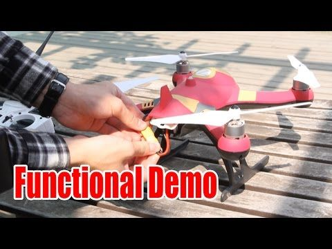 Central UAS A350 RC Quadcopter DroneFunctional Demo With 6MP