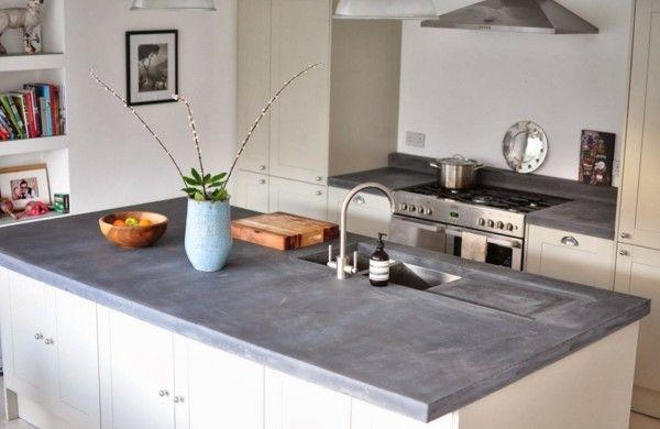 Arbeitsplatte mit Betonoptik küchenarbeitsplatten küchenplatte - k chenarbeitsplatten aus beton