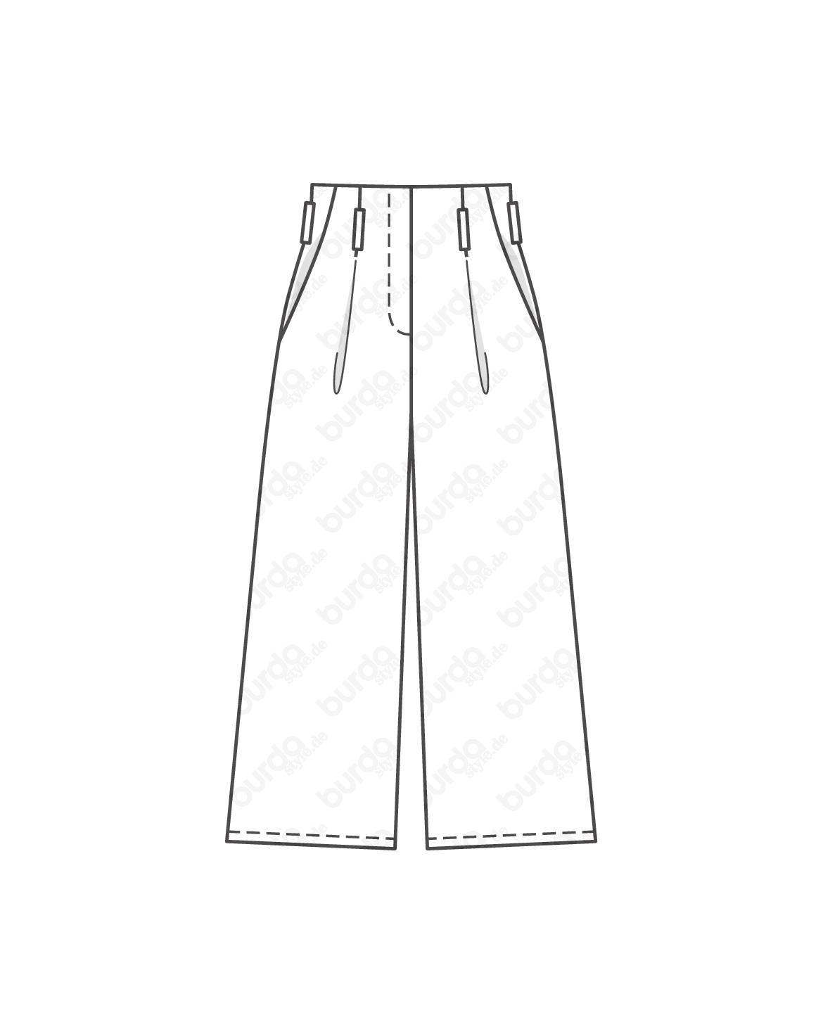 Schnittmuster Culotte 02/2017 #104C | Asia style outfit 2018 ...