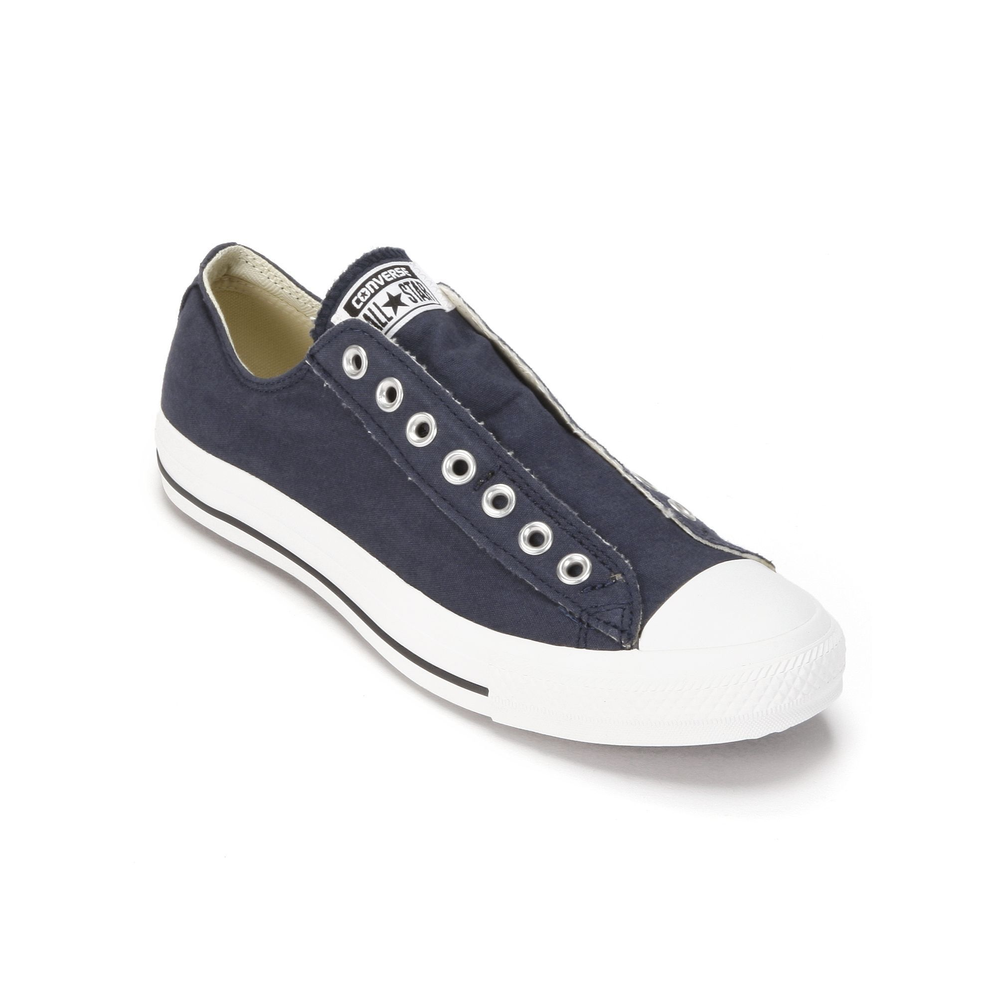 5811d80a0d7e Navy slip on converse. Adult Converse All Star Laceless Sneakers