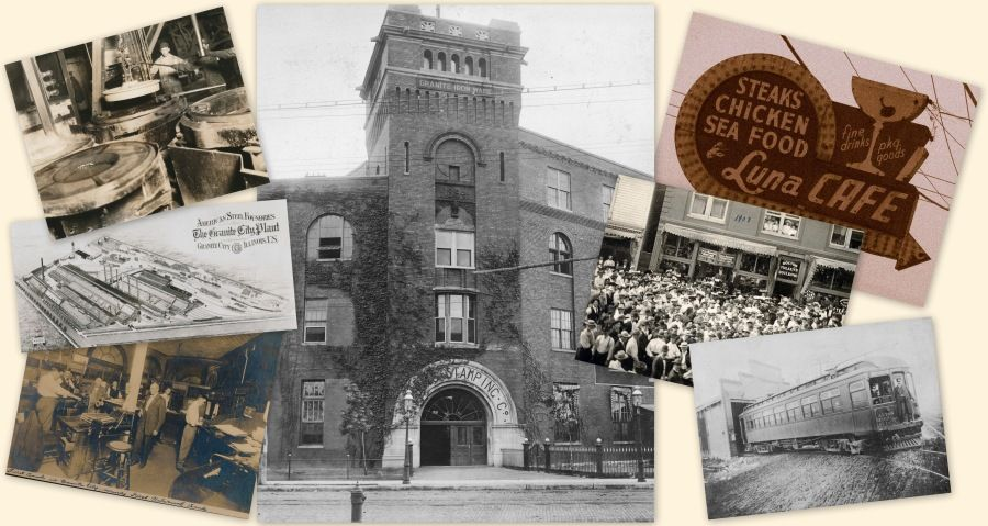 Six Miles Of Local History Local History Granite City History