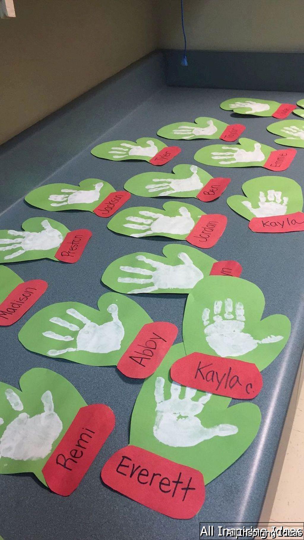 Christmas Craft Ideas Kindergarten Part - 16: 24 Fun And Easy Christmas Craft Ideas For Kids