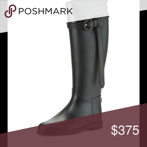 d412377408b163 Burberry rubber rain boot. Size 40
