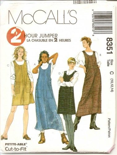 e170770c697a jumper dress pattern - Google Search
