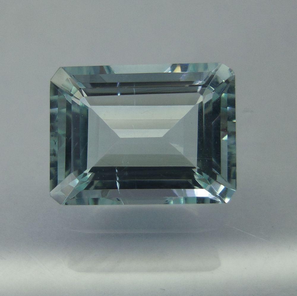 Natural Medium-Blue Aquamarine 4.6 Carat 11.7x8.8 mm Octagon Shape Cut Stone #Unbranded