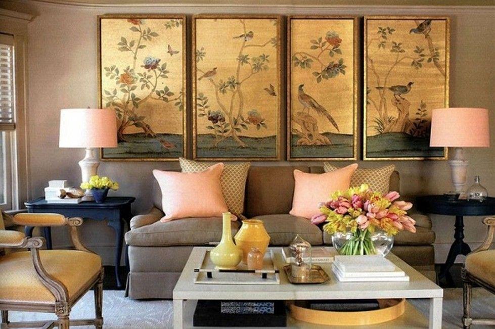 Come appendere i quadri in soggiorno | Picture Wall | Pinterest ...