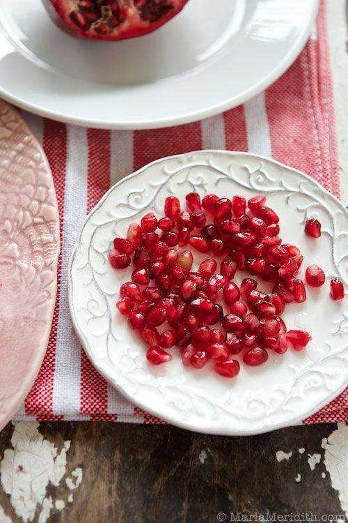 Pomegranate LOVE  on FamilyFreshCooking.com