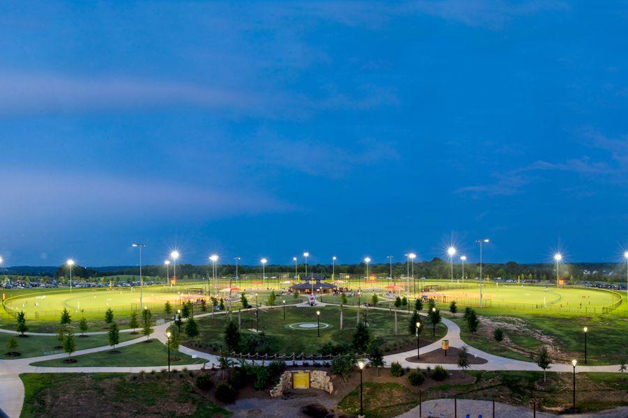 Tyger River Park Baseball Complex River park, Park