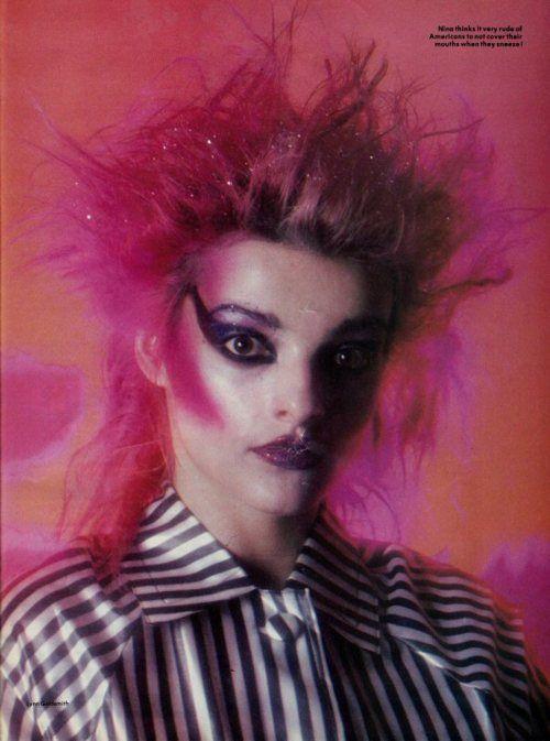 nina hagen - google makeup