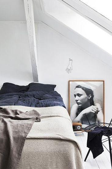 Cosy I BEDROOM Pinterest Chambre mansardée, Mansardé et Poutres