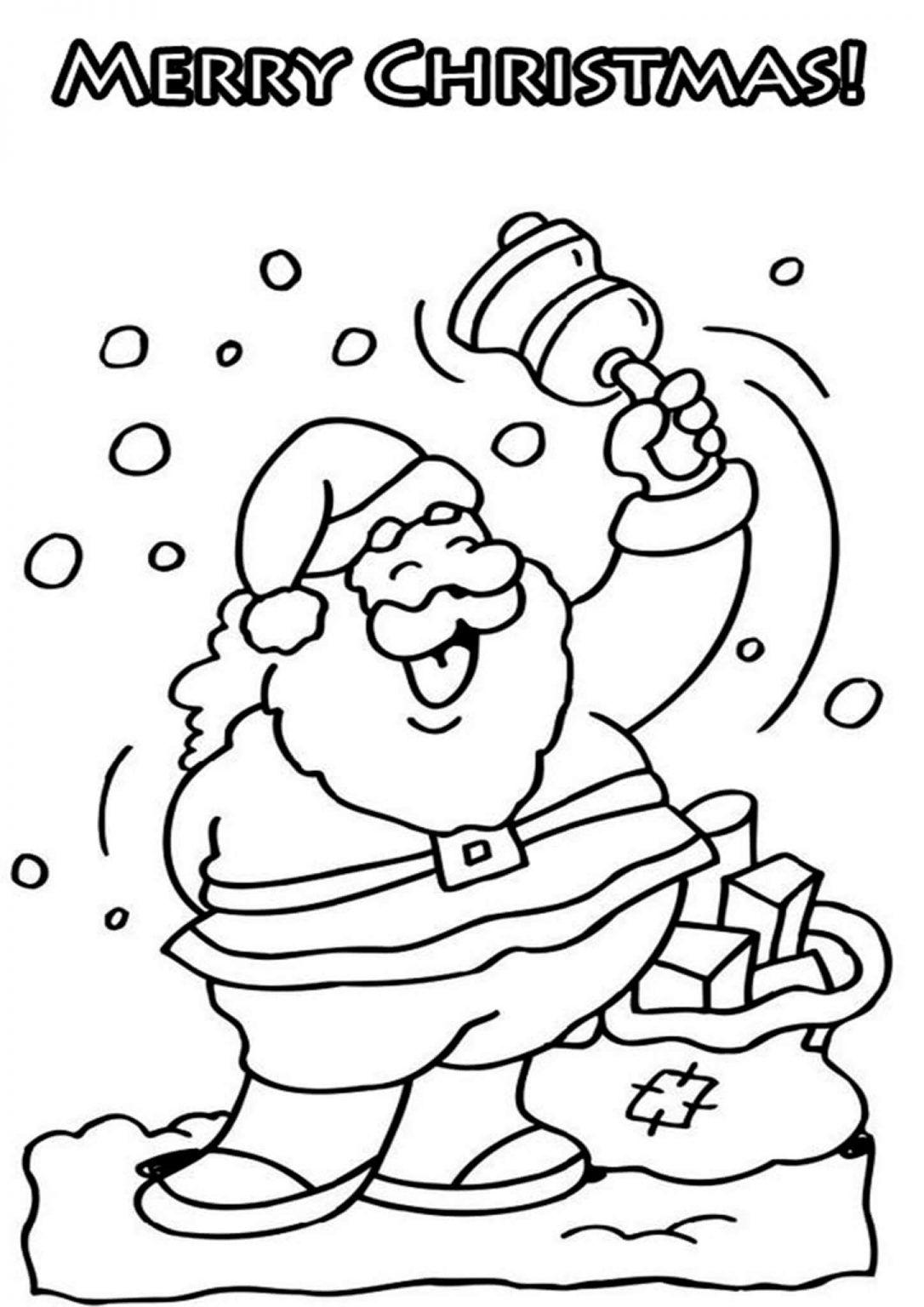 Free Printable Santa Coloring Pages For Kids Kleurplaten Kerstman Kerstmis