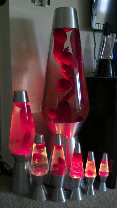 Huge Lava Lamp Amusing Great Collection He Has Like Over Three Hundred Lava Lamps  Lava Decorating Design