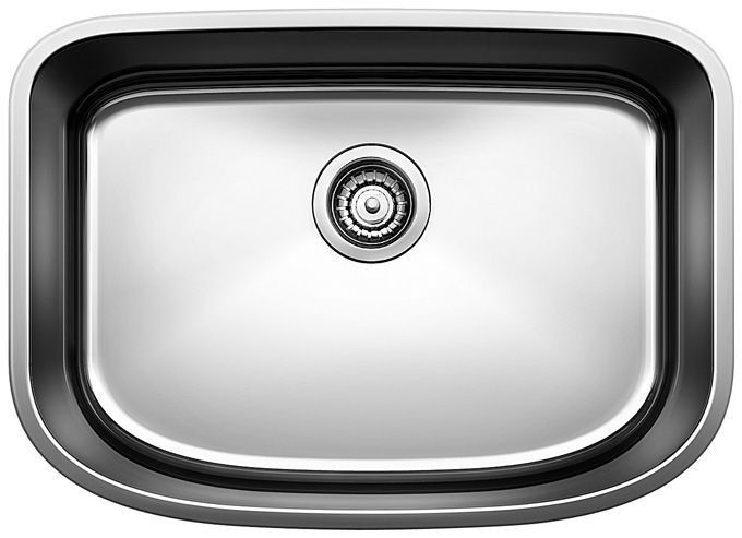 One 25 X 18 Single Bowl Undermount Kitchen Sink Products