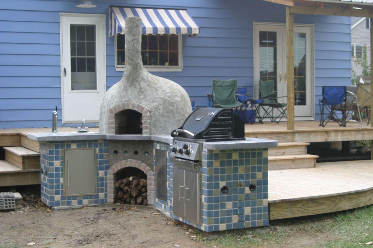 DIY Brick Bread Oven | Credit: Sherri James - DIY Brick Bread Oven Credit: Sherri James DIY Pinterest Oven