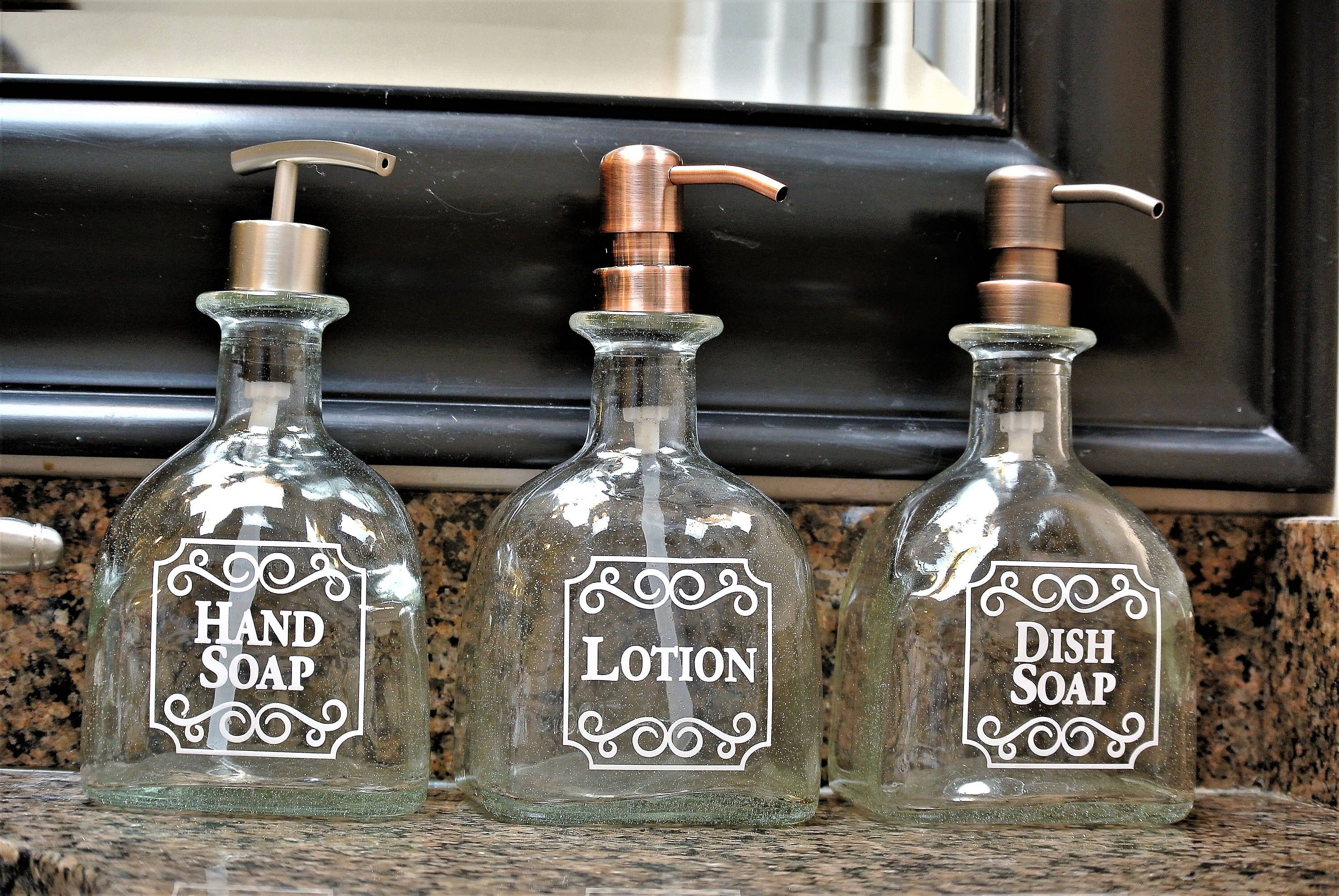 1 Patron Pump Soap Dispenser Gift Patron Bottle Dish Soap Dispenser Diy Glass Soap Dispenser Liquor Bottle Crafts