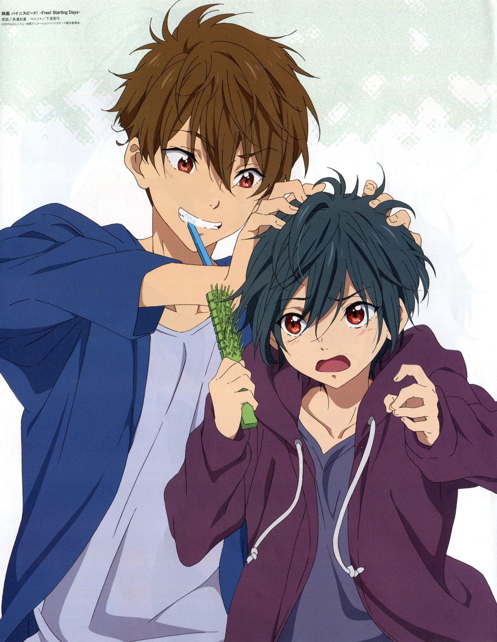 Natsuya & Ikuya Free! Starting Days Free anime, Free