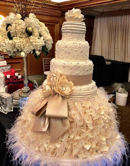 Wedding Cake Designs For Classic Wedding Party In Big Size