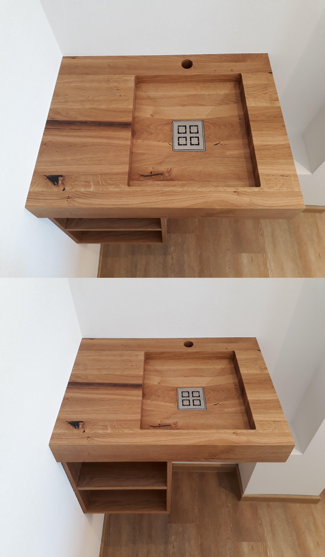 Woodbasin Waschbecken Aus Holz Handgefertigt Bei Den Bruchhauser