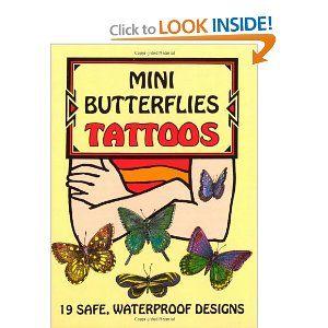 Mini Butterfly Tattoos.