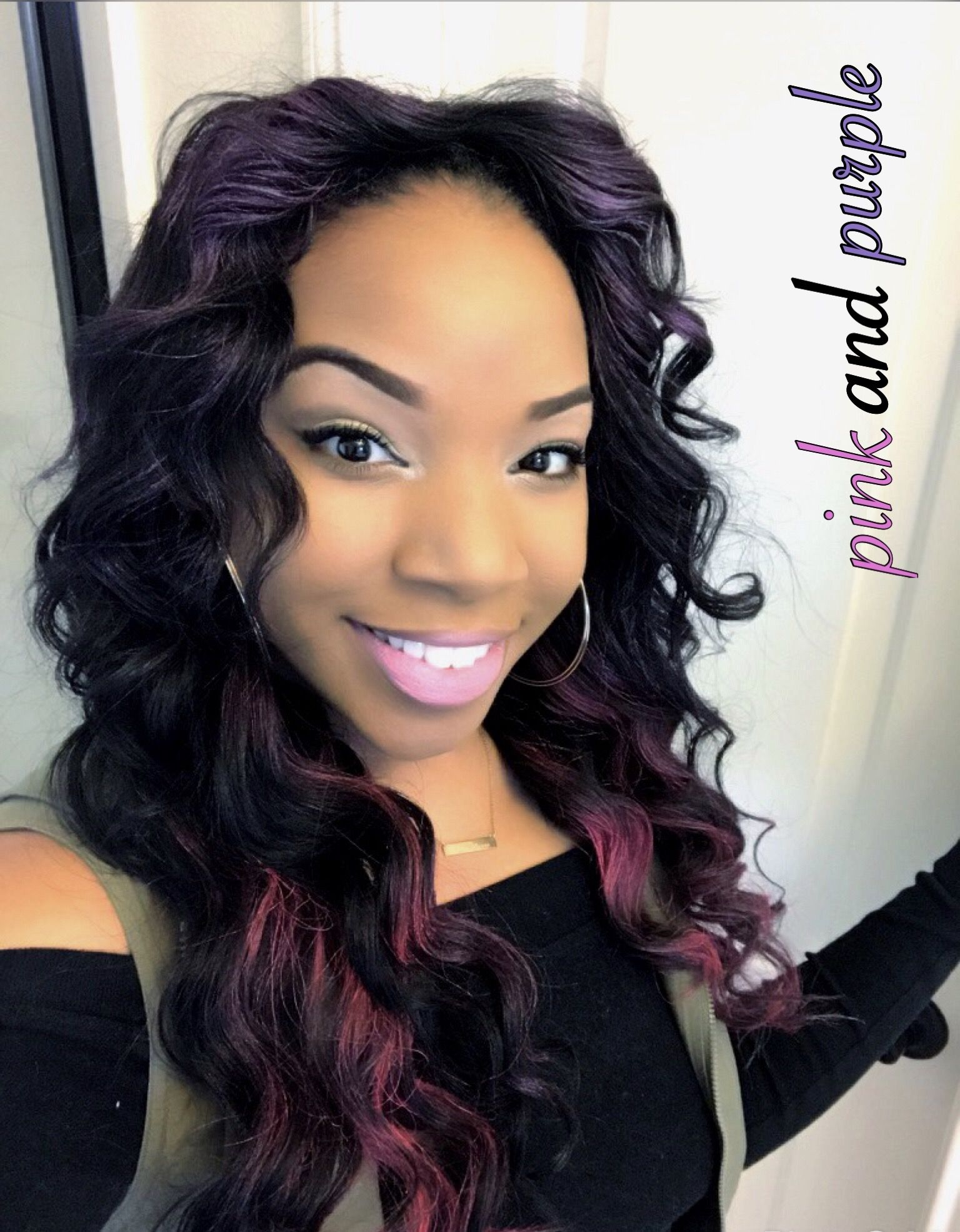 Pink Hair Purple Hair Color Hair Spray No Dye Hair Color