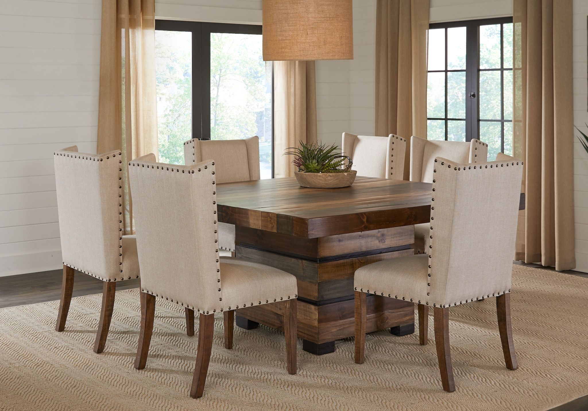 21 Stunning Wood Dining Chair In Dining Room Design Square