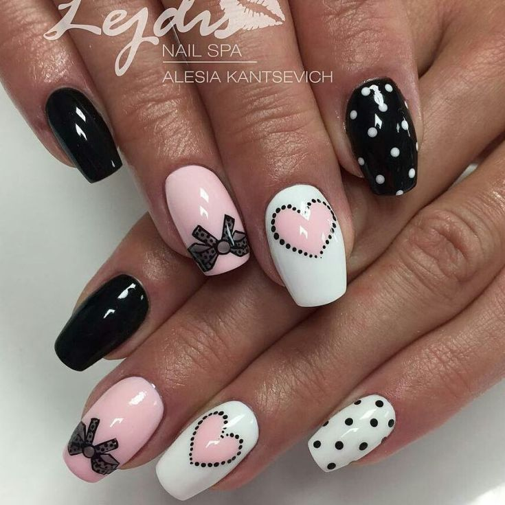 Top 60 Nail Designs With Bows 2018 Manicure Pedicures And Nail Nail