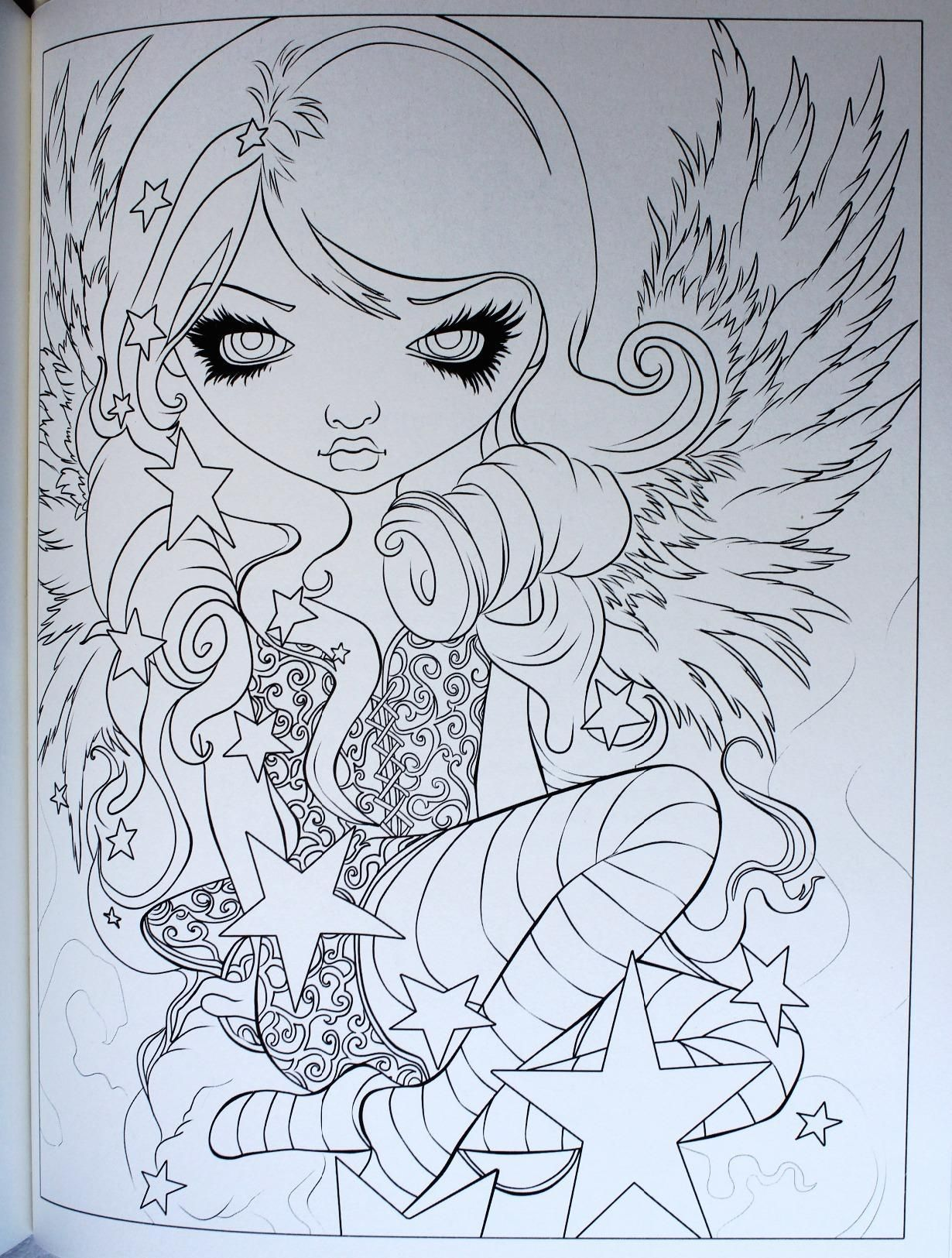A fun magic coloring book amazon - Amazon Com Jasmine Becket Griffith Coloring Book A Fantasy Art Adventure