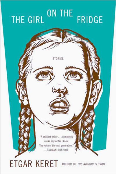 "illustration ""the girl on the fridge"" by Zeloot"