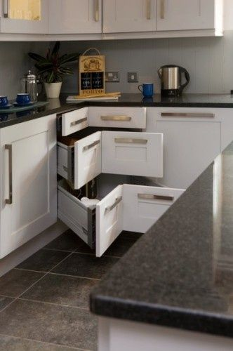 Corner Drawers Instead Of Lazy Susan  Brilliant  Kitchen Ideas Gorgeous Standard Kitchen Design Inspiration Design
