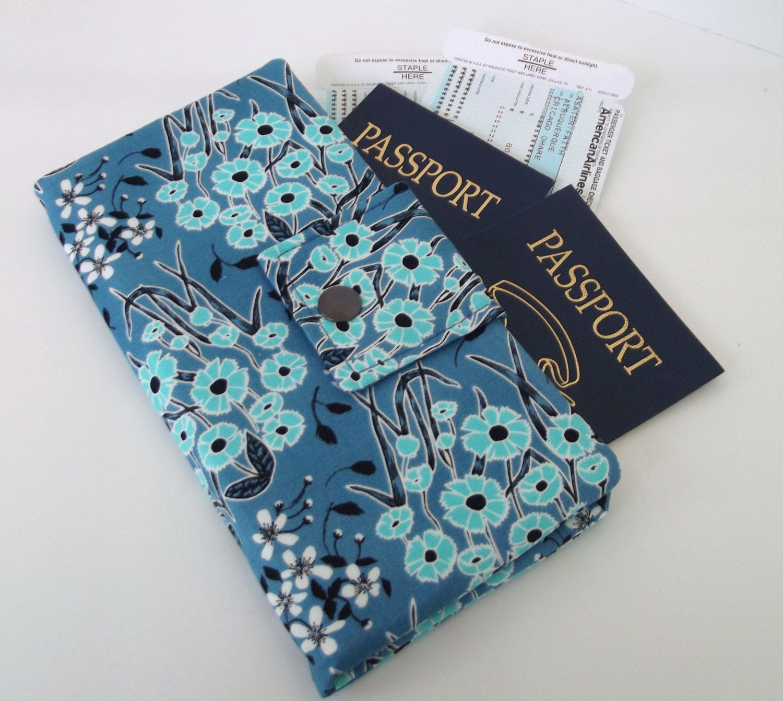 Dollbirdies Long Boarding Pass Passport Wallet by Dollbirdies on Etsy