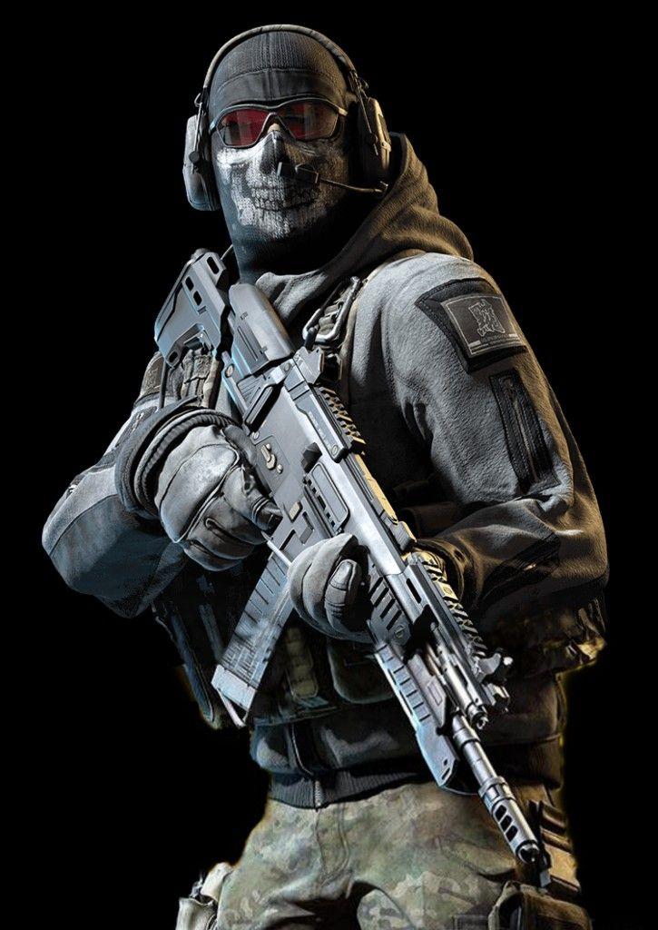 Ghost . Call of duty Call of duty, Call off duty, Call