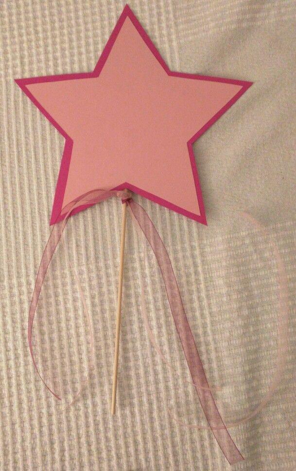 Einladungskarte Kindergeburtstag   Einfach 2 Sternenschablonen Ausschneiden  (am Besten Vorher Ausdrucken, So Dass Die