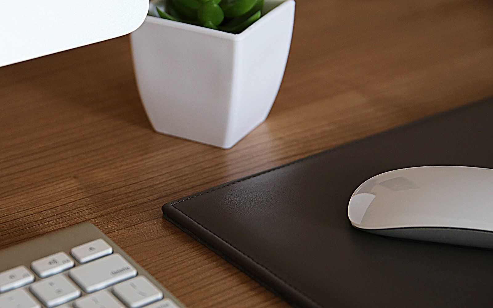 Leather Rectangular Mouse Pad