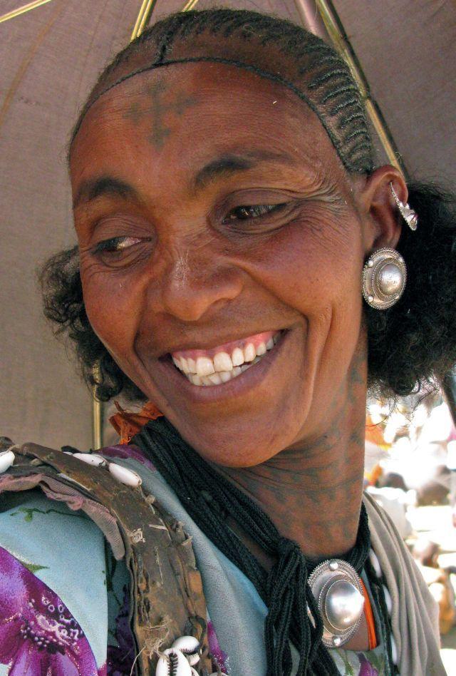 Ethiopian Tribal Tattoos