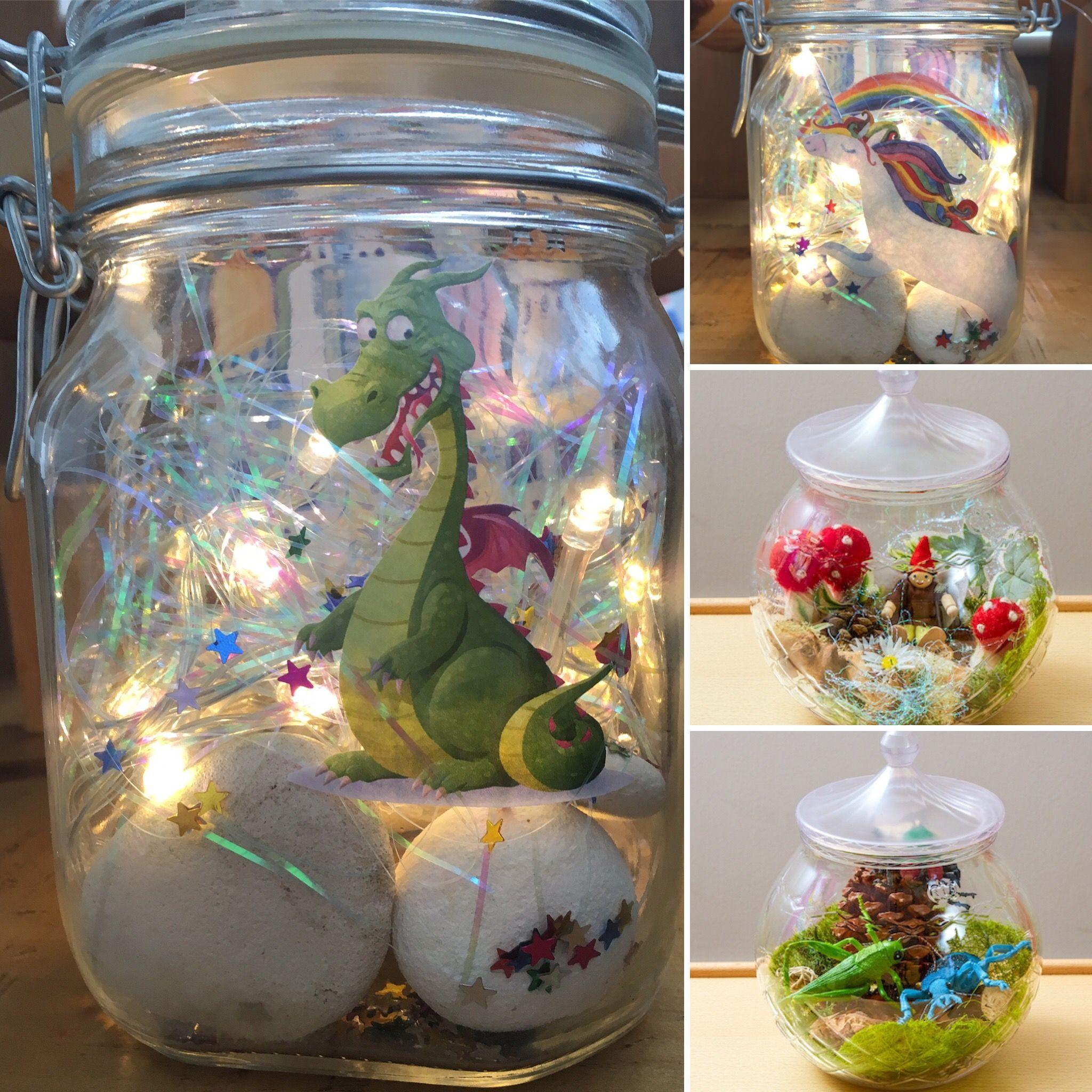 Roald Dahl Inspired Small World Dream Jars Dream Jar Bfg Dream Jars Roald Dahl Activities