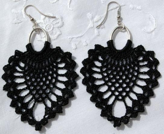 Orecchini Di Uncinetto Crochet Jewellery Crochet Earrings