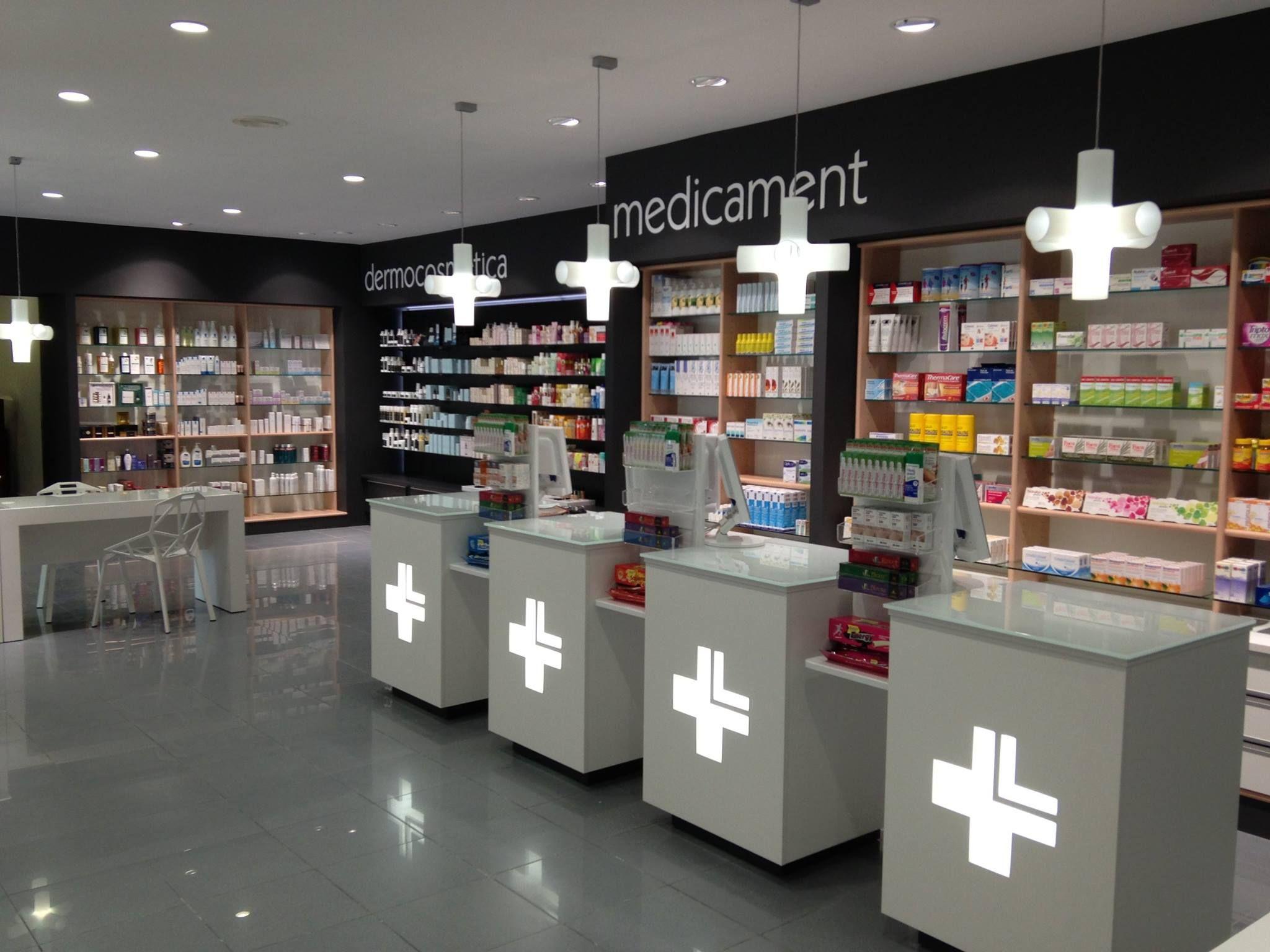 separación muebles | store ideas | Pinterest | Pharmacy, Pharmacy ...