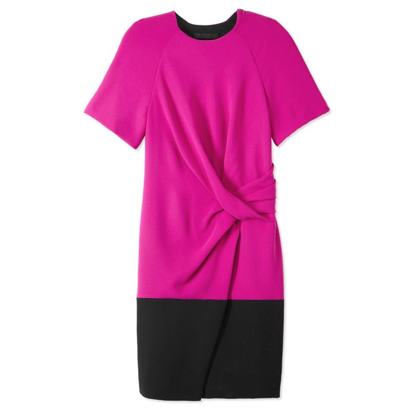 Alexander Wang Colorblock T-Shirt Drape Dress | Cosas que adoro ...