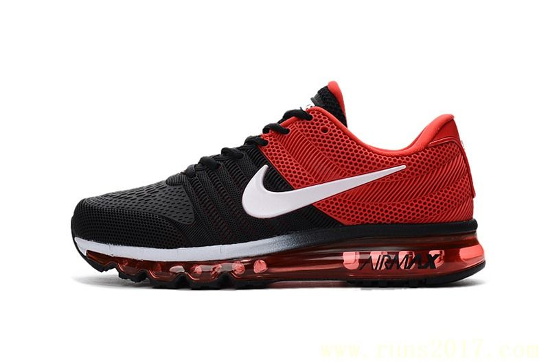 07882759397d Nike Air Max 2017 Men Black Red White Nike Men