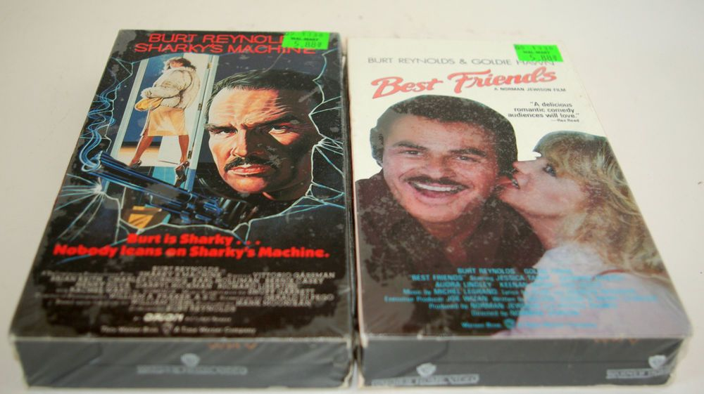 Burt Reynolds Sharkys Machine Best Friends Vhs Movies Lot Of 2