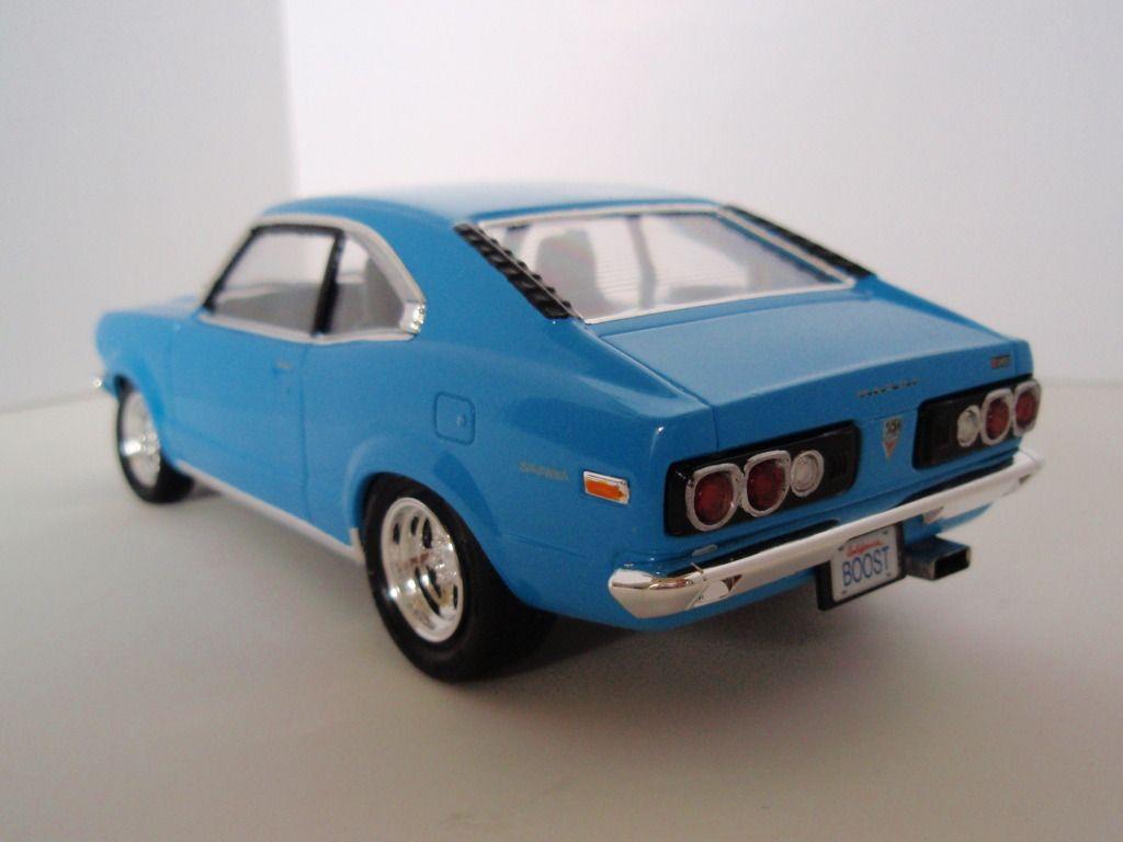 1/24 Scale Mazda RX3   Model cars kits, Diecast model cars