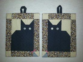 Cat Potholders Made By Me Patterns From Wwwbutikkiwebdk Find