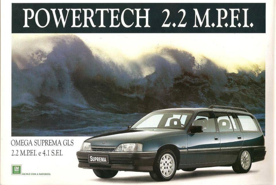 1995 Chevrolet Suprema Brasil Com Imagens Propagandas Antigas
