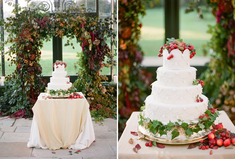 Wedding Cake With Red Accents By Sarah Winward Wedding Cake Display Lime Wedding Irish Wedding