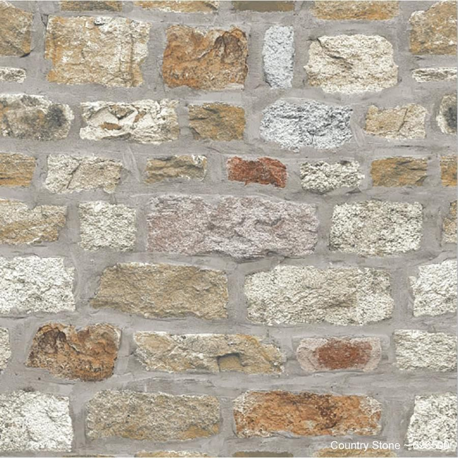Arthouse Country Stone Wallpaper Lowes Com Stone Wallpaper Brick Wall Wallpaper Brick Effect Wallpaper